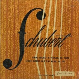 シューベルト:弦楽四重奏曲8番Op.168,9番