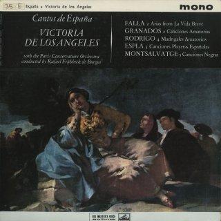 「スペイン歌曲集」モンサルバーチェ:黒人の歌,ロドリーゴ:4つの愛のマドリガル,他
