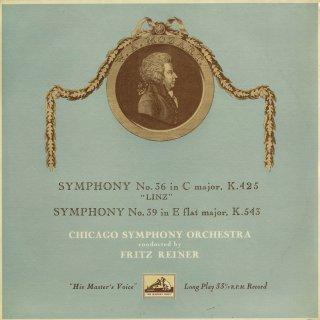 モーツァルト:交響曲36,39番K.425「リンツ」,543