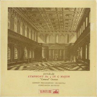 ドヴォルザーク:交響曲4番Op.88,序曲「謝肉祭」Op.92