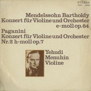 メンデルスゾーン:ヴァイオリン協奏曲,パガニーニ:ヴァイオリン協奏曲2番