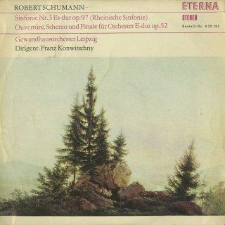シューマン:交響曲3番Op.97「ライン」,序曲、スケルツォとフィナーレOp.52