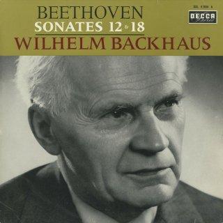 ベートーヴェン:ピアノ・ソナタ12番Op.26,18番Op.31−3