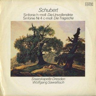シューベルト:交響曲8番「未完成」,4番「悲劇的」