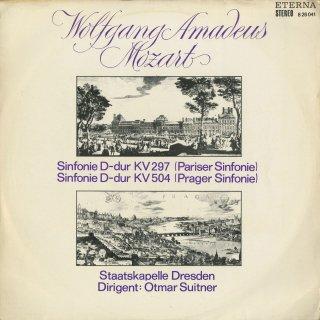 モーツァルト:交響曲31番K.297「パリ」,38番K.504「プラハ」