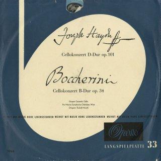 ハイドン:チェロ協奏曲2番Op.101,ボッケリーニ:チェロ協奏曲