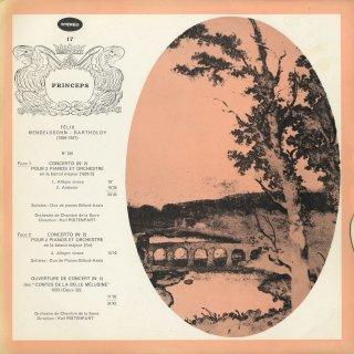 メンデルスゾーン:2台ピアノ協奏曲,序曲「美しいメルジーネの物語」Op.32