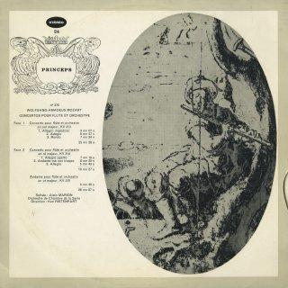 モーツァルト:Fl協奏曲K.313,314,アンダンテK.315