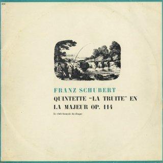 シューベルト:五重奏曲Op.114「ます」