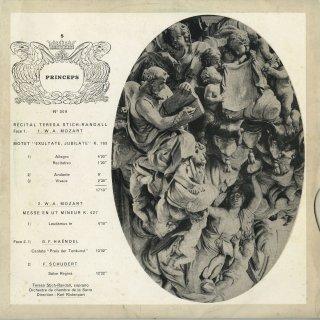 「リサイタル」モーツァルト:エクスルターテ・ユビラーテ,ミサ曲,ヘンデル,他