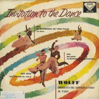 ウェーバー:舞踏への勧誘、ファリャ:「三角帽子」より、ラヴェル:道化師の朝の歌、ボレロ