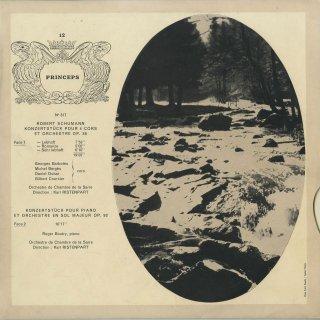 シューマン:4つのホルンと管弦楽のためのコンチェルトシュテュックOp.86,他
