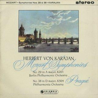 モーツァルト:交響曲29番K.201,38番K.504「プラハ」