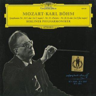 モーツァルト:交響曲34番K.338,31番K.297「パリ」,26番K.184