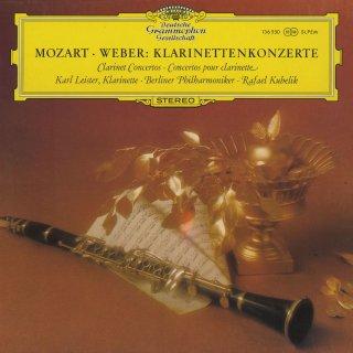 クラリネット協奏曲集/モーツァルト:K.622,ウェーバー:1番Op.73