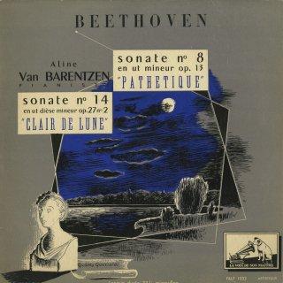 ベートーヴェン:ピアノ・ソナタ14番Op27−2「月光」,8番Op.13「悲愴」