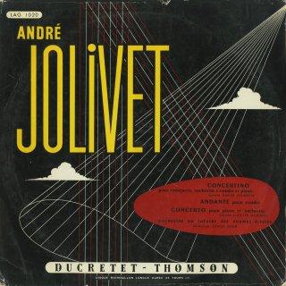ジョリヴェ:ピアノ協奏曲,トランペット・弦楽とピアノのためのコンチェルティーノ,アンダンテ