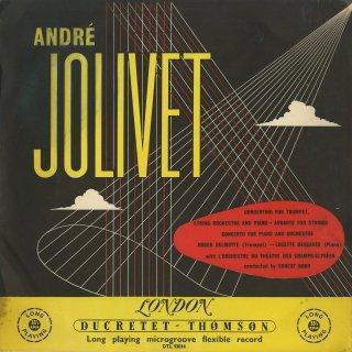 ジョリヴェ:ピアノ協奏曲,トランペット・弦楽とピアノのコンチェルティーノ,アンダンテ