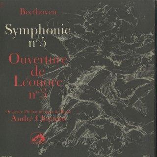 ベートーヴェン:交響曲5番Op.67「運命」,レオノーレ序曲3番Op.72a