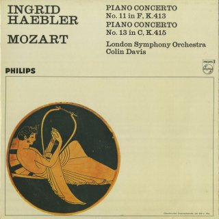 モーツァルト:ピアノ協奏曲11番K.413,13番K.415