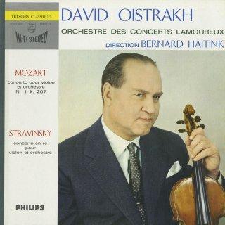 ヴァイオリン協奏曲集/モーツァルト:1番K.207,ストラヴィンスキー