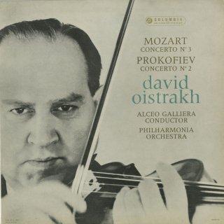 モーツァルト:ヴァイオリン協奏曲3番K.216,プロコフィエフ:ヴァイオリン協奏曲2番Op.63