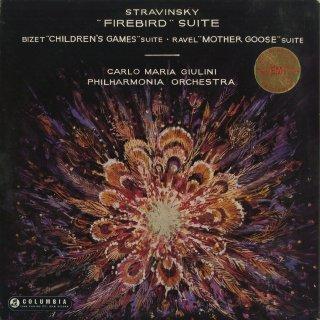 ストラヴィンスキー:組曲「火の鳥」(1919年版),ビゼー:組曲「子供の遊び」,ラヴェル