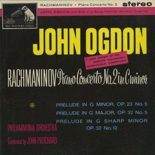ラフマニノフ:ピアノ協奏曲2番Op.18,前奏曲Op.23−5,32−5,32−12