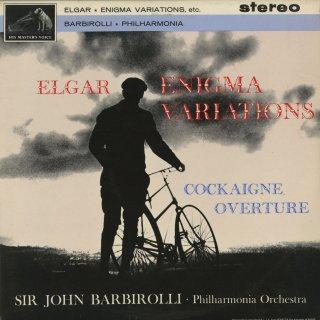 エルガー:創作主題による変奏曲「エニグマ」Op.36,序曲「コケイン」Op.40