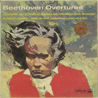 ベートーヴェン:序曲集/フィデリオ,レオノーレ3番,コリオラン,プロメテウス,エグモント