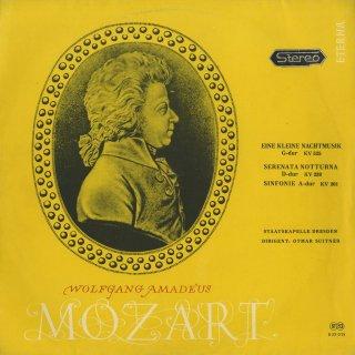 モーツァルト:アイネ・クライネK.525,セレナータ・ノットゥルナK.239,交響曲29番K.201