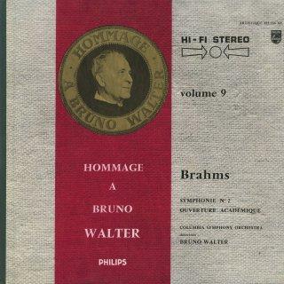 ブラームス:交響曲2番Op.73,大学祝典序曲Op.80