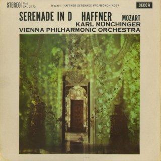 モーツァルト:セレナーデ7番K.250「ハフナー」