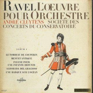 「ラヴェル:管弦楽曲集Vol.4」クープランの墓,古風なメヌエット,道化師の朝の歌,他