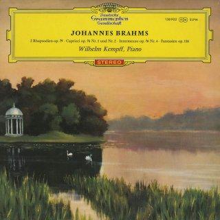 ブラームス:2つの狂詩曲Op.79,幻想曲集Op.116,奇想曲Op.76−1,2,間奏曲Op.76−4
