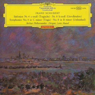 シューベルト:交響曲4番「悲劇的」,8番「未完成」