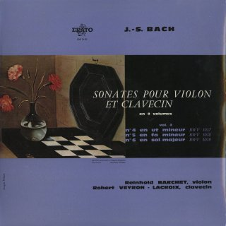 バッハ:ヴァイオリン・ソナタBWV.1017〜1019