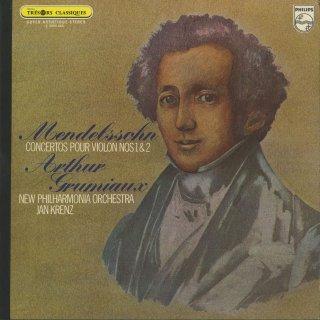 メンデルスゾーン:ヴァイオリン協奏曲1番,2番Op.64