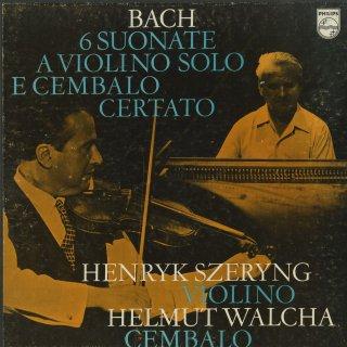 バッハ:6つのヴァイオリン・ソナタBWV.1014〜1019