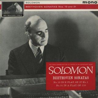 ベートーヴェン:ピアノ・ソナタ13番Op.27−1,31番Op.110