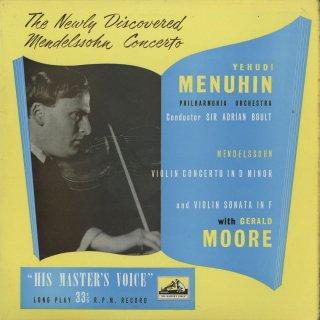 メンデルスゾーン:ヴァイオリン協奏曲Op.64,ヴァイオリン・ソナタ