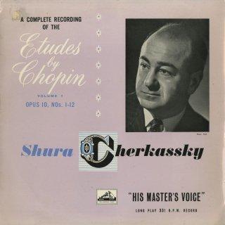 ショパン:24の練習曲Op.10,25,3つの新しい練習曲