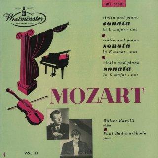 モーツァルト:ヴァイオリン・ソナタK.296,304,301