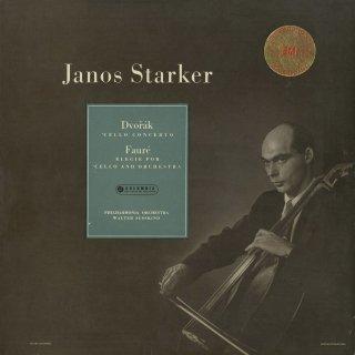 ドヴォルザーク:チェロ協奏曲Op.104,フォーレ:エレジーOp.24