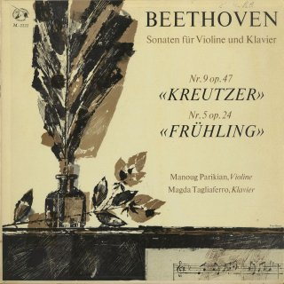 ベートーヴェン:ヴァイオリン・ソナタ9番「クロイツェル」Op.47,5番「春」Op.24