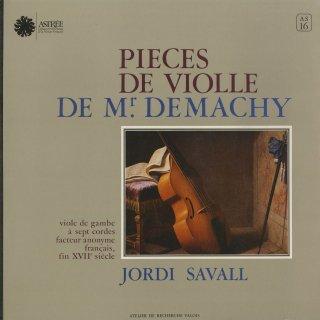 「ドゥマシー:ヴィオール曲集」組曲1,3,4番