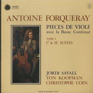 「フォルクレ:ヴィオール曲集」組曲1,2番