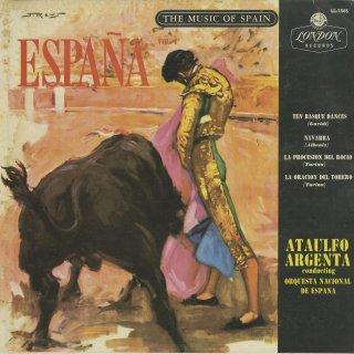 スペイン管弦楽曲集Vol.1/アルベニス:ナバーラ,トゥリーナ:ロシーオの行列,闘牛士の祈り,グリーディ:10のバスクの旋律