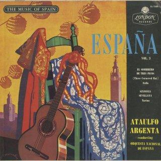 スペイン管弦楽曲集Vol.3/ファリャ:三角帽子,トゥリーナ:セビーリャ交響曲