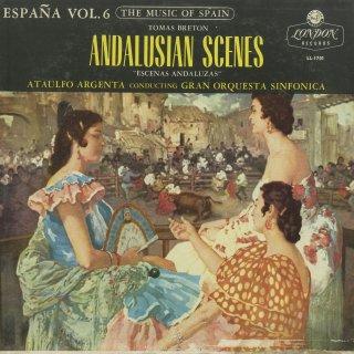 スペイン管弦楽曲集Vol.6/ブレトン:アンダルシアの風景,アルハンブラにて,ボレロ,ラ・ドロレス